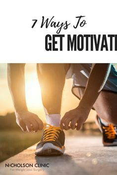 It is possible to create new, healthy habits in your life, but it takes real effort and some creative thinking along the way. Here are 7 tried and true methods to help you get motivated to work out. http://www.nicholsonclinic.com/blog/all/with-you-all-the-way/2017/03/03/7-ways-to-find-your-motivation Weight Loss | Fitness | Weight Loss Surgery | Gastric Sleeve