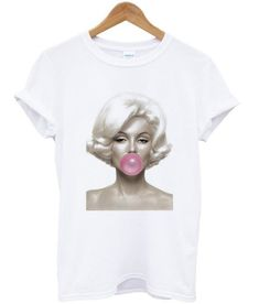 032d5d7b195c 60 Best Marilyn Monroe Shirts images | Custom made t shirts, Custom ...