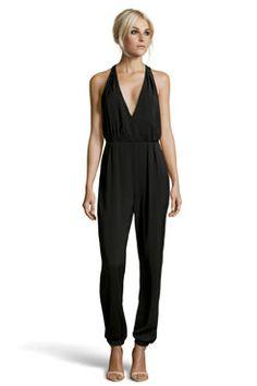 Boutique Lidia Halter Neck Backless Jumpsuit