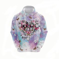 Love Store, Flower Skull, Zip Hoodie, High Definition, Arms, Just For You, Hoodies, Flowers, Fabric