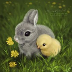 Happy (a bit belated) Easter my Friends! I hope that you have a wonderful time! Cute Wild Animals, Cute Kawaii Animals, Baby Animals Super Cute, Cute Baby Dogs, Cute Baby Bunnies, Baby Animals Pictures, Cute Little Puppies, Cute Stuffed Animals, Cute Animal Drawings