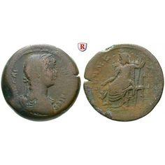 Römische Provinzialprägungen, Ägypten, Alexandria, Hadrianus, Drachme Jahr 11 = 126/127, s-ss: Ägypten, Alexandria. AE-Drachme 35 mm… #coins