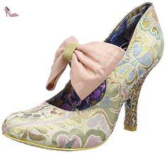 Irregular Choice  Windsor, Mary Jane femme - or - Gold (Gold Multi), 38 2/3 - Chaussures irregular choice (*Partner-Link)
