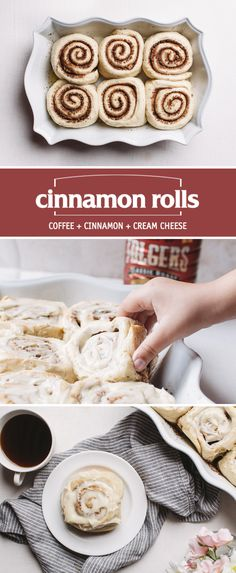 Start your morning with delicious coffee-infused twist on the classic breakfast favorite. These coffee cinnamon rolls are the perfect way to start your day