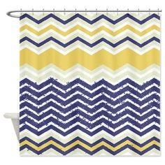 Khristian A Howell Nina In Pink And Navy Shower Curtain Products