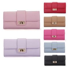4.12$  Watch here - http://aliw6w.shopchina.info/go.php?t=32799422614 - New Arrive 1Pc Women Leather Bifold Wallet Clutch Phone Card Holders Purse Lady Long Handbag 4.12$ #buyonline