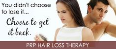 PRP Hair Loss Treatment is a revolutionary procedure that rejuvenates your hair and gives your hair a natural look. Due to nutritional deficiency and other reasons your hair may become weak and thin. Weak hair leads to mild or excessive hair loss and finally you may go completely bald.   Visit: http://soniyam1.livejournal.com/1665.html