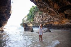 Suluban-Cave-by-tuulavintage-2 Located at the Bukit Peninsula, Suluban Beach is connected to Kuta and Denpasar through Jimbaran by the busy Jalan Bypass Nusa Dua and this is the only route in, approximately 34 km from Denpasar.