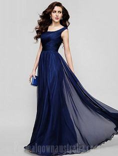 c6eb3726303 Australia Formal Evening Dress Holiday Dress Dark Navy Plus Sizes Dresses  Petite A-line Princess Scoop Long Floor-length Chiffon Coupon Code  Coupon  code  ...