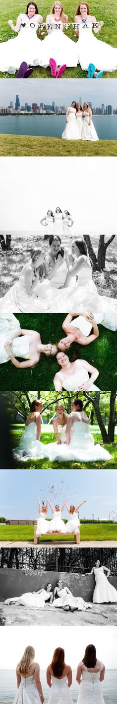 Trash the Dress in Chicago with my sisters, so fun! ~fotoenvy studios
