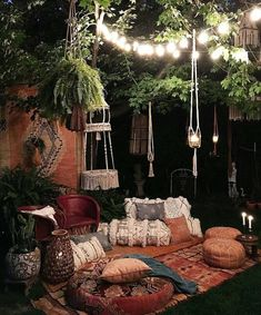 Elegant Bohemian Decor: #outdoor #decor#nature