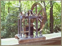 James Booth Rectilinear Steam Engine