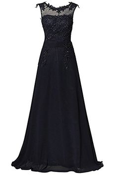 Women s Floor length Appliques Bridesmaid Formal Chiffon ... https   www. e997d28229
