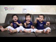 Triplets * Dance ! [HIT] 슈퍼맨이 돌아왔다-대한&민국&만세의 '바라밤' 댄스, 귀여움 폭발!.20140831 - YouTube