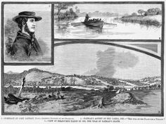 """- Portrait of John Batman, from a likeness supplied by his grandson. - Batman's Ascent of the Yarra, - """"This Will be the Place for a Village!"""" - View of Melbourne Taken in the Year of Batman's Death. Family History Book, Melbourne Victoria, The Old Days, Historical Pictures, Historic Homes, Capital City, Back In The Day, Continents, Cemetery"""