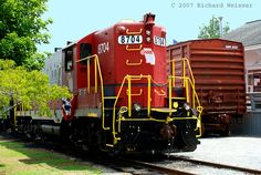 Photo of the Blue Ridge Railroad | Blue Ridge Georgia