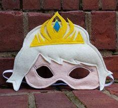 Elsa Frozen Inspired mask Pretend Play Elsa by littleshepsters