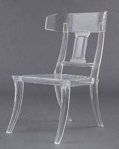 Santorini Chair by Dragonette. Modern design inspired by Greek klismos