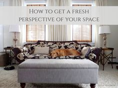 Tip: A fun way to get a fresh perspective of your room (and a few bonus photography tips)