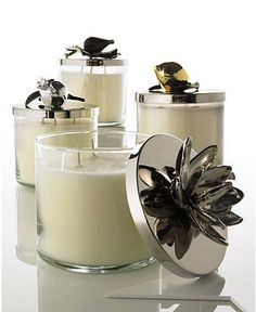 Michael Aram Signature Candle Collection traditional candles and candle holders Candels, Candle Lanterns, Candle Diffuser, Candle Containers, Scented Candles, Wax Candles, White Candles, Smell Good, Gift Boxes