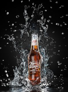Harry Bromptons Ice Tea /// 3D Creative Visual & Advert by Marco Serena, via Behance
