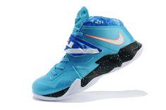 wholesale dealer 2a5ea ffd10 Nike Zoom LeBron Soldier 7 Galaxy Cheap Nike, Nike Shoes Cheap, Michael  Jordan Shoes