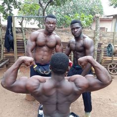 Keep The Drive Alive: African Bodybuilders [Motivational Video]...