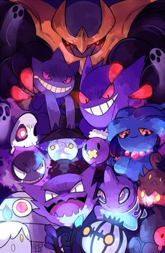 Ghost - Pokemon ~ DarksideAnime