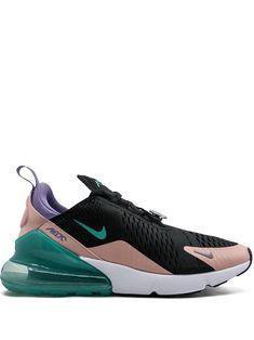 Nike Air Max 270 Have A Nike Day sneakers - Black Purple Nike Shoes, Purple Nikes, Nike Air Shoes, Air Max Sneakers, Cute Shoes, Me Too Shoes, Nike Vintage, Ar Max, Tenis Nike Air