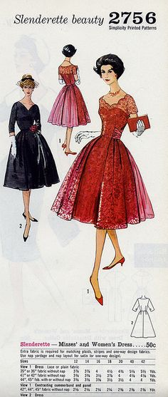 2756 ~ a lovely 1950s party dress with sheer overlay.