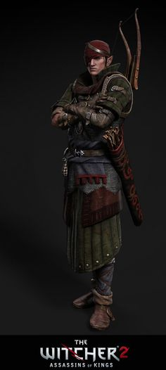 Iorveth render by Scratcherpen on DeviantArt