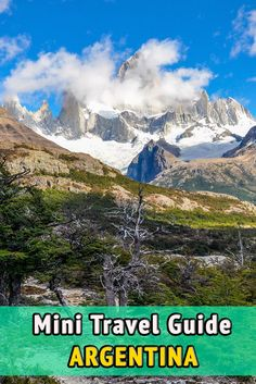 Mini travel guide to Argentina. Useful information and tips and to prepare your travel to Argentina. When to go, where to stay, what to eat, visa, medical information, and much more.