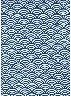 This pattern (Qinghai wave) is a traditional pattern has been used since ancient times in Japan