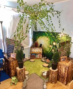 Room Inspiration for when the majority of us can go back to our classrooms! 🌟 Thank you Candice Siemens from Play & Learn with Friends Daycare and valued member of our exclusive Wonder Tribe for sharing your room and transformation process! Reading Corner Classroom, Classroom Setting, Classroom Design, Reggio Classroom, Toddler Classroom, Classroom Decor, Outdoor Classroom, School Displays, Classroom Displays