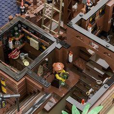 LEGO IDEAS - - The Pirate Bay Lego Pirate Ship, Lego Ship, Lego Pictures, Tiki Lounge, Small Farm, Legos, Pirates, Product Ideas, Lego Ideas