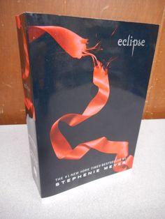 ECLIPSE Stephenie Meyer Softcover 2009 Twilight #3 - Printer Error Upside-Down