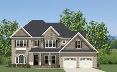 Traditional House Plan with 3263 Square Feet and 5 Bedrooms from Dream Home Source   House Plan Code DHSW076731