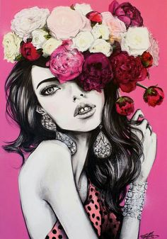 Art of realistic drawings and painting illustrations by pippa Spray Paint On Canvas, Wow Art, Fashion Sketches, Fashion Illustrations, Painting Illustrations, Fashion Drawings, Sketch Inspiration, Illustration Girl, Female Art