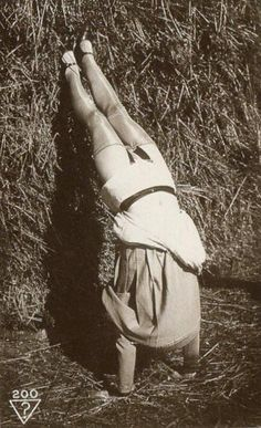 Everything is Gold... vintage yoga