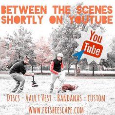 Are you readyyyy??? Soon on Youtube the FE's Video spot.  #k9sport #k9 #canine #design #fetch #discdog #vault #vaultvest #fe #youtube #bordercollie #video #bandanas