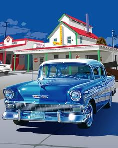 awesome images: 1956 Chevrolet. @Deidra Brocké Wallace