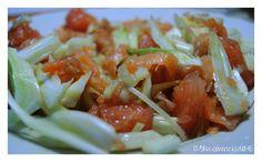 123 Ricomincio da ME: Insalata fresca al pompelmo rosa, finocchio e salmone