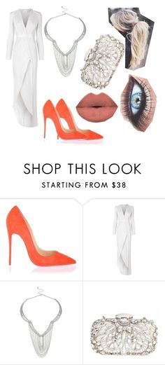"""""""Sans titre #286"""" by estelle24 ❤ liked on Polyvore featuring Christian Louboutin, Galvan, Lipsy and Natasha Couture"""