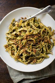 Olive and Sun Dried Tomato Pesto Pasta