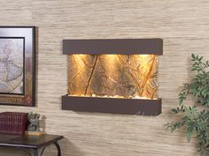Whether You Are Looking For Wall Or Floor Fountain The Master Builders At Adagio Water Features Have Th Wall Fountain Water Feature Wall Indoor Wall Fountains