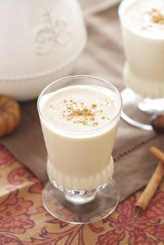 Eggnog ~ replace rum with vanilla vodka and kahlua