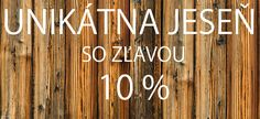 SALE 10% FROM 10.10.2014