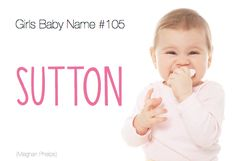 baby name: Sutton