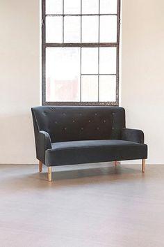 Rita 2-Seater Velvet Sofa