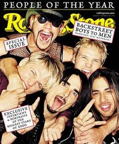 RS 856/857: Backstreet Boys Image - 2000 Rolling Stone Covers | Rolling Stone
